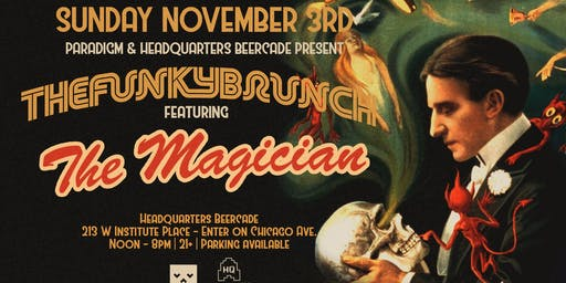 FUNKY BRUNCH ft THE MAGICIAN