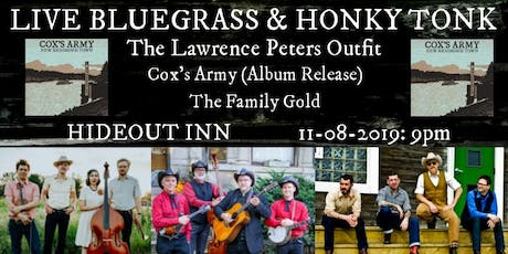 The Lawrence Peters Outfit, Cox's Army (Record Release), The Family Gold tickets