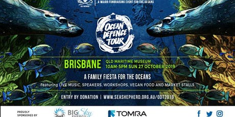 Sea Shepherd's Ocean Defence Tour - BRISBANE  Family Fiesta 2019 tickets