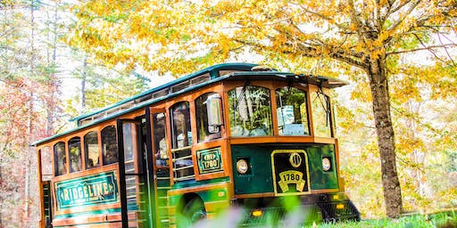 Fall Color Tour on the Ridgeline Trolley hosted by Burke County Tourism
