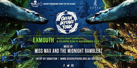 Sea Shepherd's Ocean Defence Tour 2019- Exmouth tickets