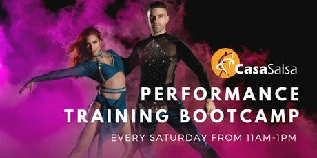 Performance Training Bootcamp (Every Saturday) tickets