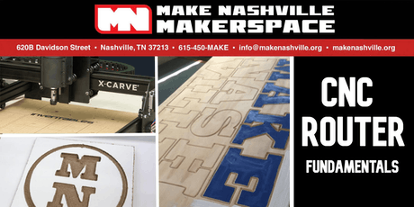 CNC Router Fundamentals tickets