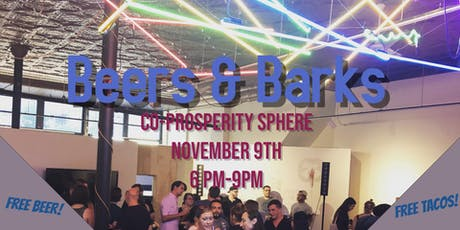 Beers and Barks Fundraiser tickets