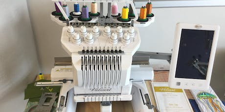 Basic Use and Safety: Embroidery Machine tickets