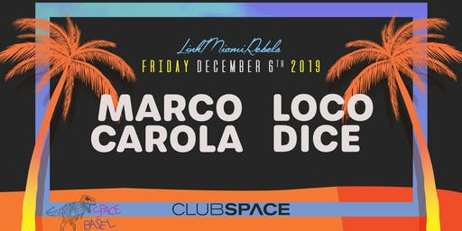 Marco Carola + Loco Dice (Space Basel)