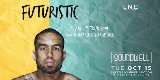 """Futuristic - """"I Am…"""" Tour 2019"""