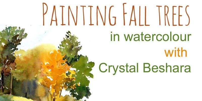 Painting Fall Trees with Crystal Beshara