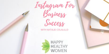 Instagram for Business Success - Full Day Workshop & Lunch tickets