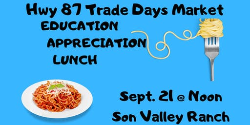 Education Appreciation Lunch