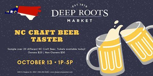 NC Craft Beer Taster