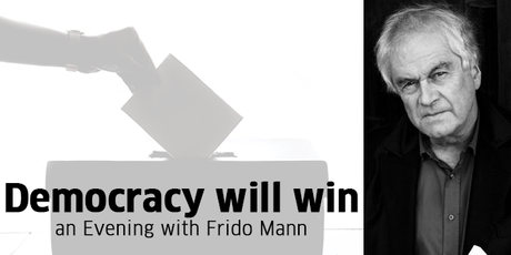 Democracy Will Win - An Evening with Frido Mann tickets