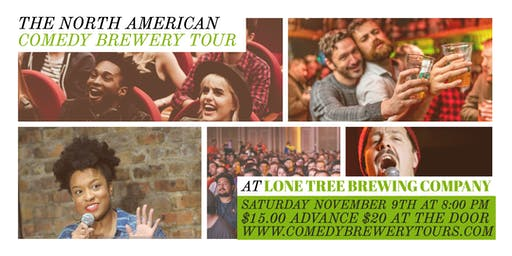 Draughts and Laughs! Stand-up Comedy at Lone Tree Brewing Company