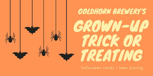 SOLD OUT: Grown-Up Trick or Treating at Goldhorn Brewery