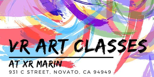 Virtual Reality Art Class at XR Marin