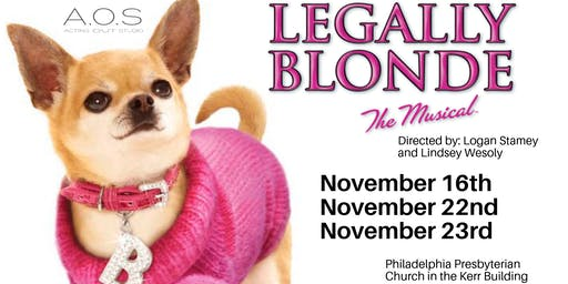 Acting Out Studio Presents: Legally Blonde the Musical