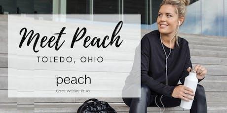 Meet Peach | Toledo, OH!  tickets