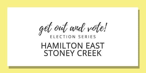 Get Out & Vote - Hamilton East-Stoney Creek Riding