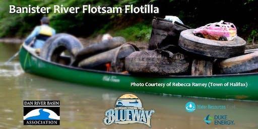 Banister River Flotsam Flotilla River Clean-up