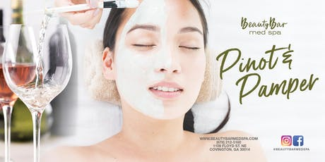 Pinot and Pamper tickets