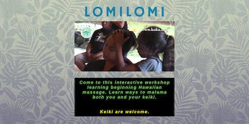 Lomilomi with Kumu Mele (Windward Mall)