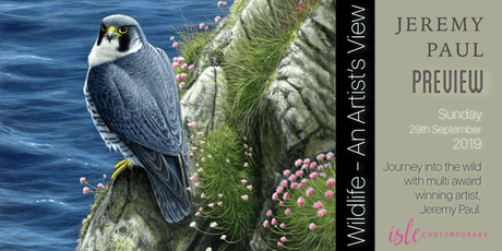 Jeremy Paul: Wildlife - An Artist's View tickets
