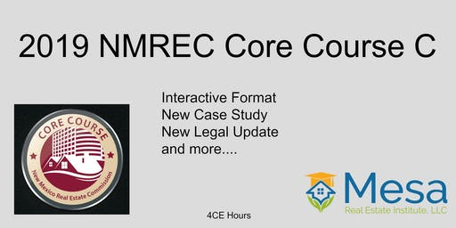 2019 NMREC Core Course C