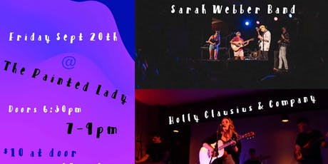 Sarah Webber Band & Holly Clausius At The Painted Lady tickets