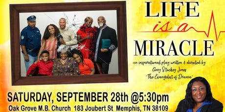 Life Is A Miracle Stage Play tickets