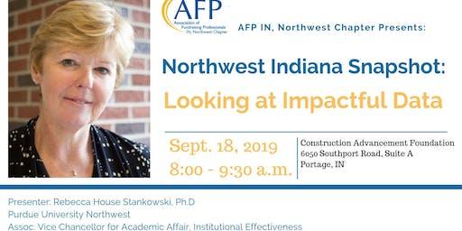Northwest Indiana Snapshot -- Looking at Impactful Data
