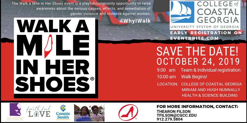 Walk A Mile in Her Shoes Tickets, Thu, Oct 24, 2019 at 9:00