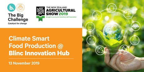 Climate Smart Food Production tickets