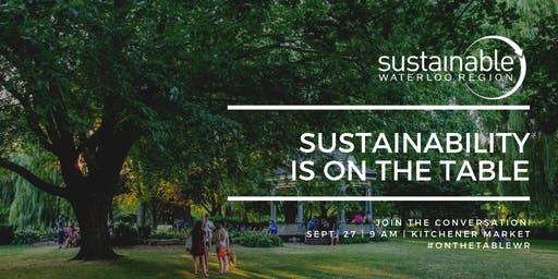 Sustainability is On The Table
