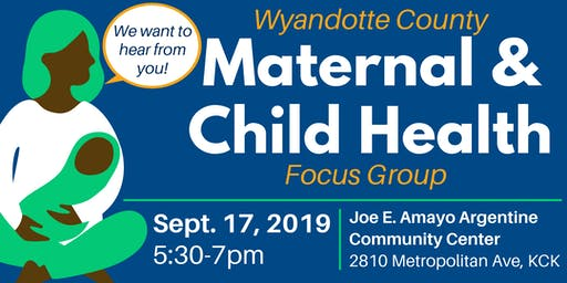 WyCo Maternal & Child Health Focus Group 2