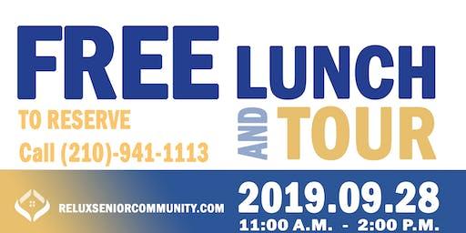 Relux Senior Community Pre-Open Lunch Event