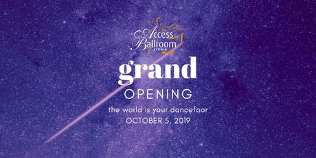 Grand Opening Gala tickets
