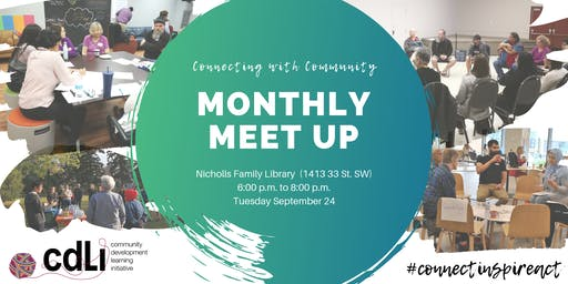 Connecting with Community: CDLI Meet Up - Tues Sept 24, 2019