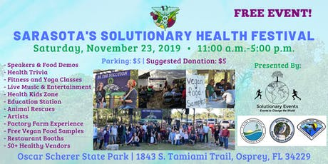 Sarasota's Solutionary Health Festival tickets