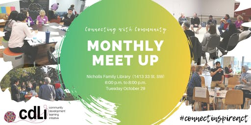 Connecting with Community: CDLI Meet Up - Tues Oct 29, 2019