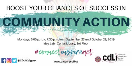 Boost Your Chances of Success in Community Action tickets