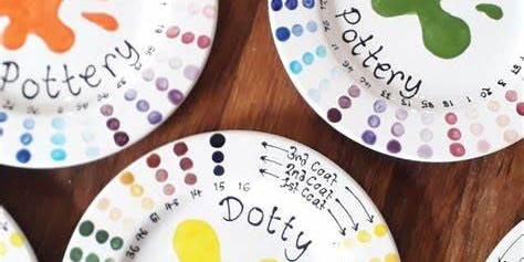 Waveney Deaf Children's Society - Pottery painting workshop and member's AGM