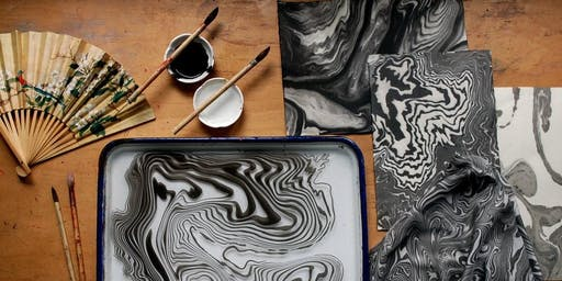 Intro to Paper Marbling with Andrew Ochal