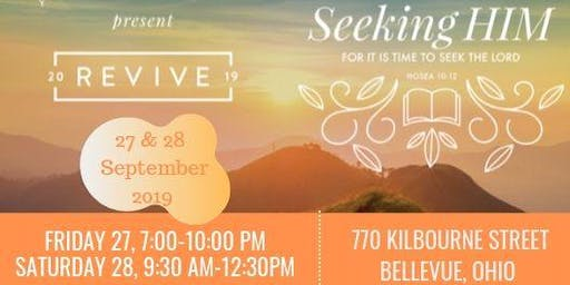 Revive' 19,  Women's conference: It's time to seek the Lord
