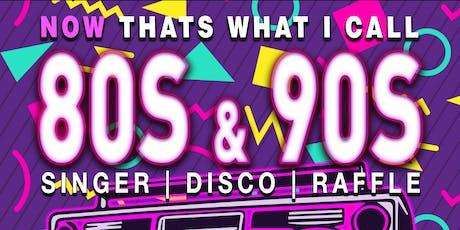80's & 90's Evening  tickets