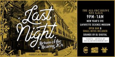 Last Night : Return of the Roaring 20's