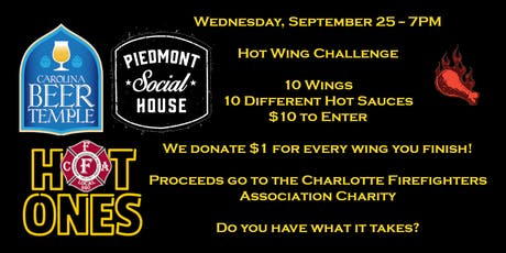 Hot Wings Challenge to Benefit Charlotte Firefighters tickets