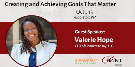 HWNT Dallas: Creating and Achieving Goals That Matter tickets