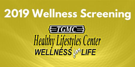 Snap Fitness 2019 Corporate Wellness Screening tickets