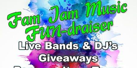 Fam Jam Music FUN-draiser tickets