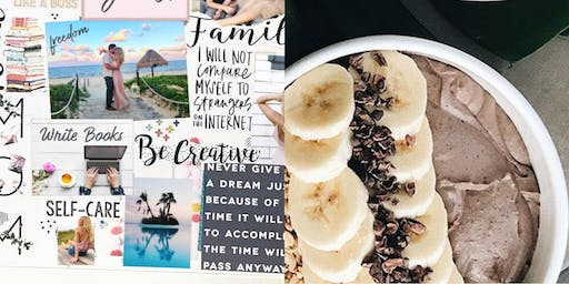 Vision Board and Smoothie Bowl Party